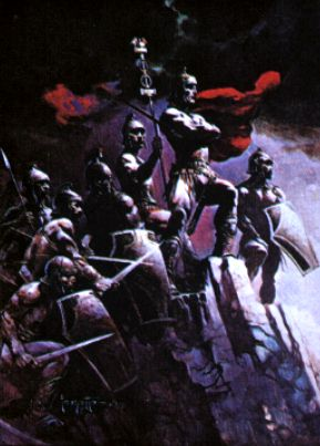 Art Print No 116 Seven Romans Frazetta Art Museum