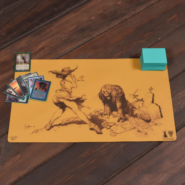 Ungraved Leather Playmat by Wyrmwood Gaming