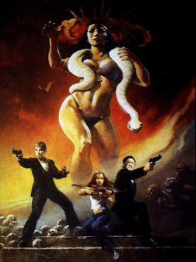 Art Print No 147 - From Dusk Till Dawn Frazetta Art Museum